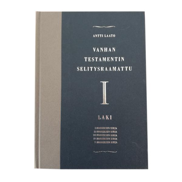 Vanhan testamentin selitysraamattu 1 Laki 69 € (1 kpl)_